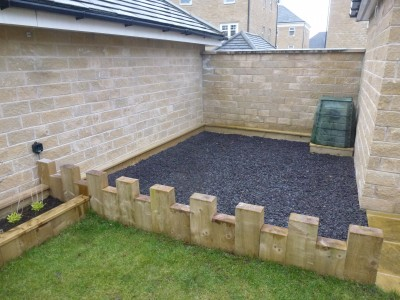 Great space for play area
