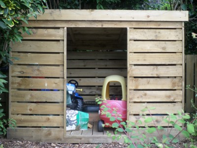 Bespoke garden buildings for Storage huts for garden