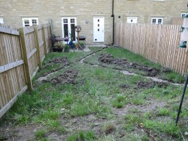 Royds Park Garden - Before Photo
